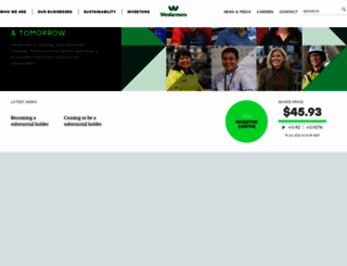 wesfarmers.com.au screenshot