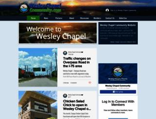 wesleychapelcommunity.com screenshot