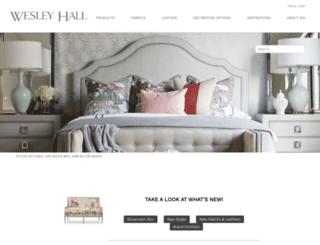 wesleyhall.com screenshot