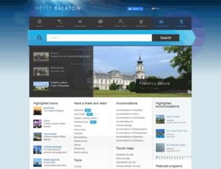 west-balaton.hu screenshot