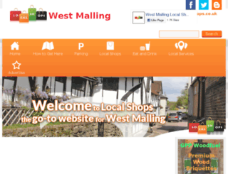 west-malling.local-shops.co.uk screenshot