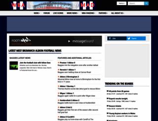 westbromwichalbion-mad.co.uk screenshot