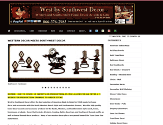 westbysouthwestdecor.com screenshot