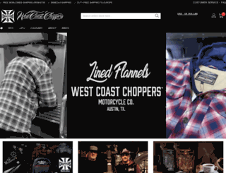 westcoastchoppers.com screenshot
