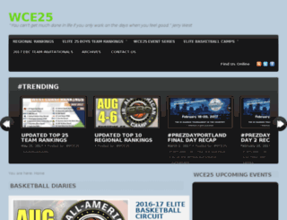 westcoastelite25basketball.com screenshot