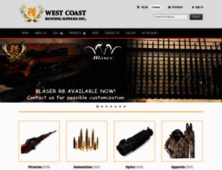 westcoasthunting.ca screenshot