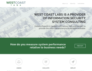 westcoastlabs.com screenshot