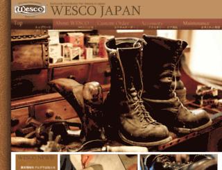 westcoastshoe.co.jp screenshot