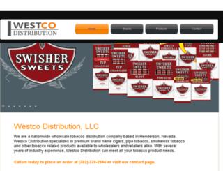 westcodistribution.com screenshot