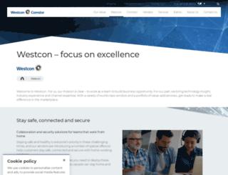 westcon.co.za screenshot