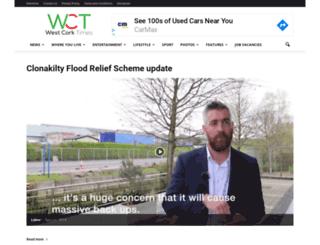 westcorktimes.com screenshot