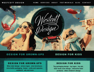 westcottdesign.com screenshot