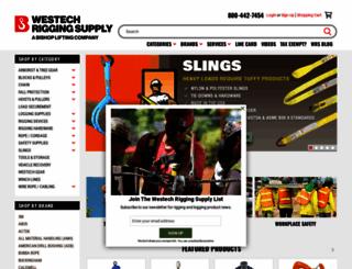 westechrigging.com screenshot