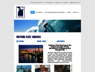 westernfleet.net screenshot