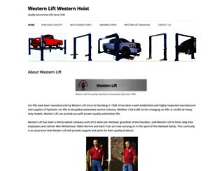 westernlift.org screenshot
