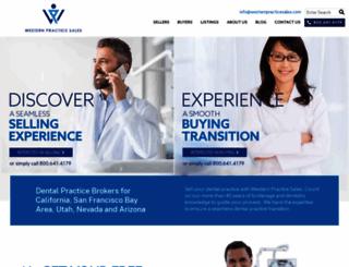 westernpracticesales.com screenshot