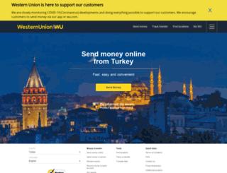 westernunion.com.tr screenshot