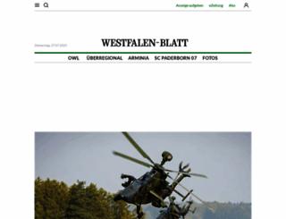 westfalen-blatt.de screenshot
