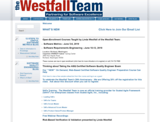 westfallteam.com screenshot