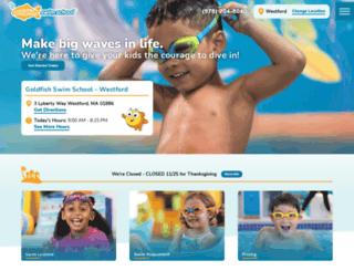 westford.goldfishswimschool.com screenshot