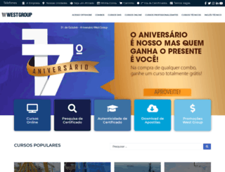 westgroup.com.br screenshot