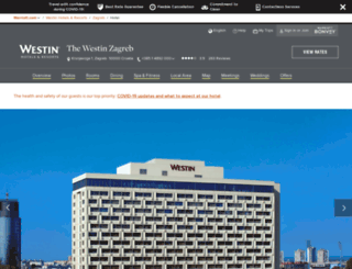 westinzagreb.com screenshot