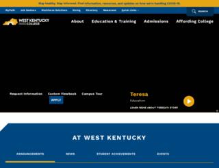 westkentucky.kctcs.edu screenshot