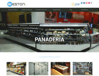 weston.com.co screenshot