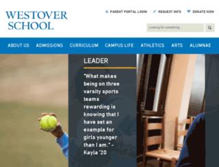 westoverschool.org screenshot