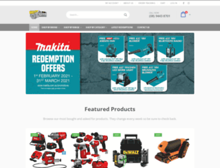 westoztools.com.au screenshot