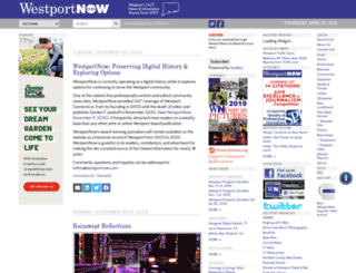 westportnow.com screenshot