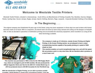 westsideprint.co.za screenshot