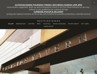 westsidetavernla.com screenshot