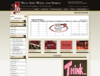 westsidewines.com screenshot