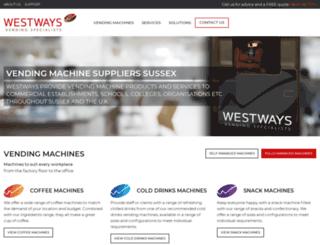 westwaysvending.co.uk screenshot