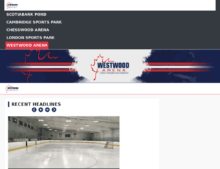 westwoodarena.com screenshot