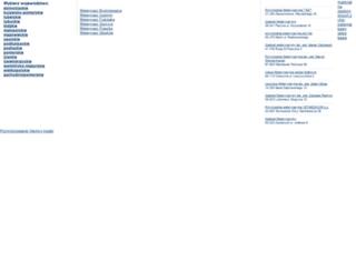 weterynarze.com screenshot