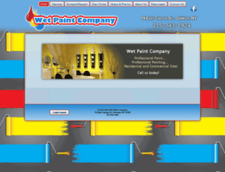 wetpaintcompany.com screenshot