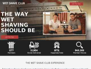 wetshaveclub.com screenshot