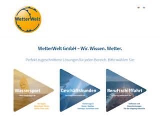 wetterwelt.de screenshot