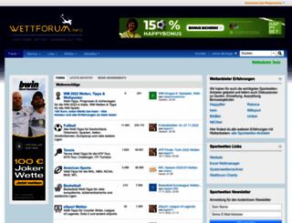 wettforum.info screenshot