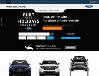 wetzelford.com screenshot