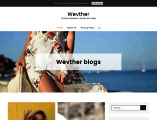wevther.com screenshot