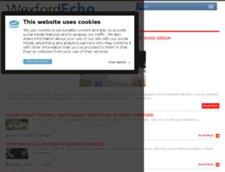 wexfordecho.ie screenshot