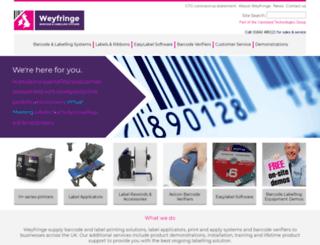 weyfringe.co.uk screenshot