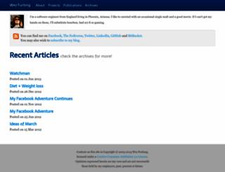 wezfurlong.org screenshot