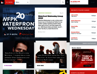 wfpk.org screenshot