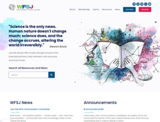 wfsj.org screenshot