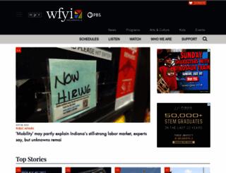 wfyi.org screenshot
