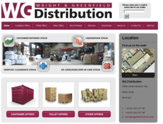 wgdistribution.com screenshot